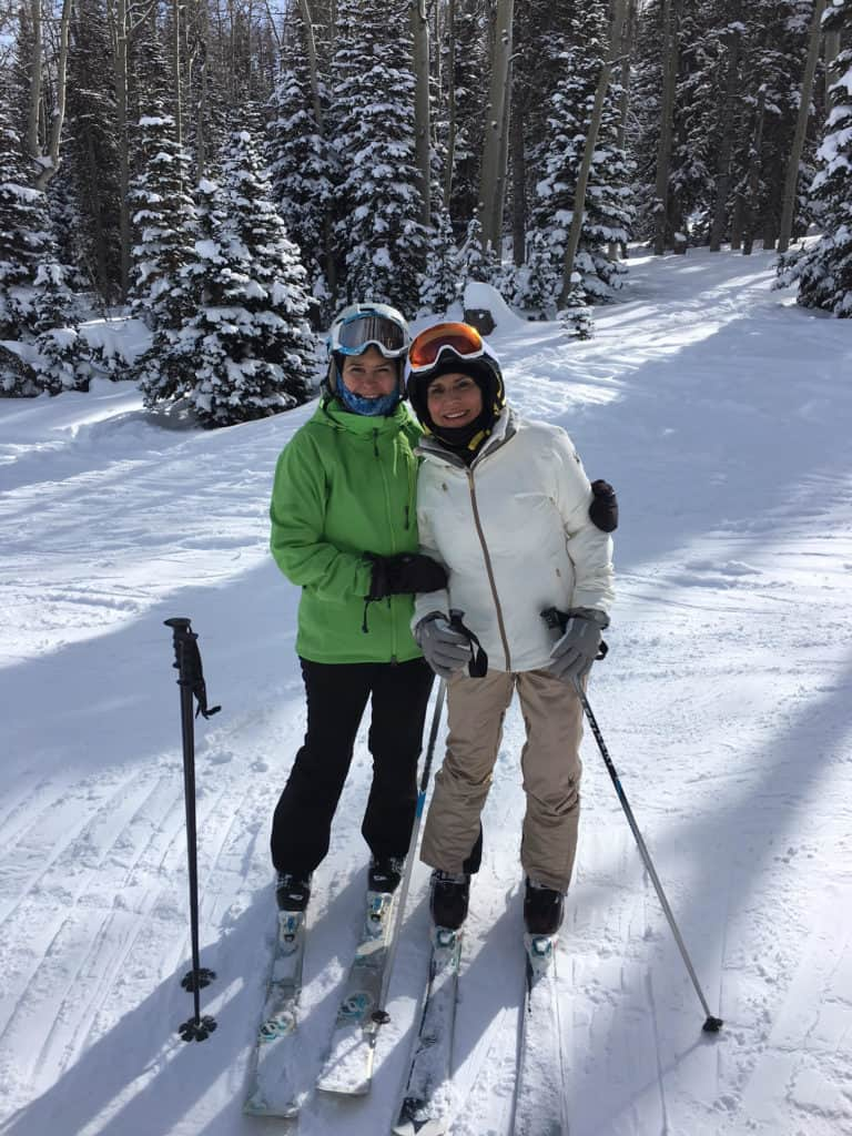 Skiing over the age of 60 helps you stay connected socially and get healthy physically. You even save money in retirement on health care by staying in top shape!