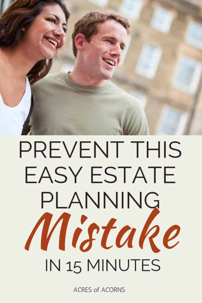If a financial planner can make this estate planning mistake, you can, too.